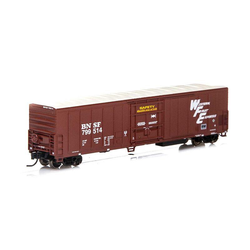 N 57' PCF Mechanical Reefer BNSF Brown #799514
