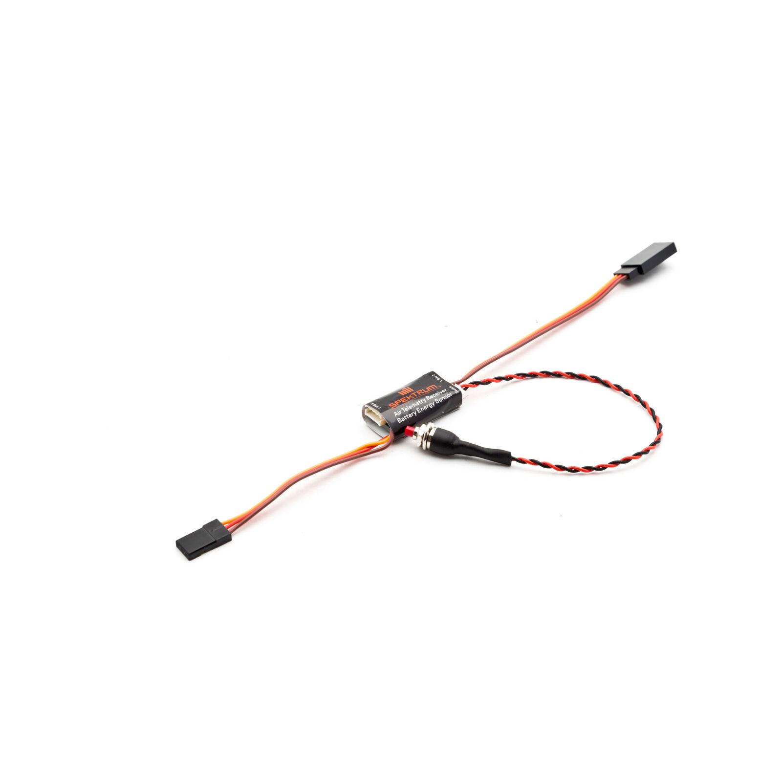 Aircraft Telemetry Receiver Battery Energy Sensor