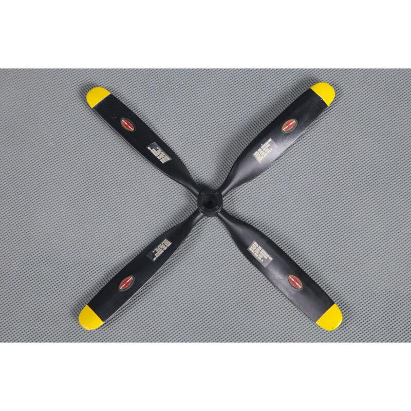 Propeller, 7x5.4, 4-Blade: 800mm P51 V2
