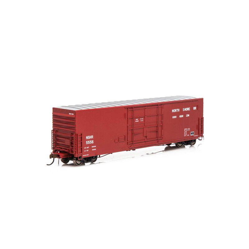 HO 50' PC&F SS Box w 14' Plug Door NSHR #5556