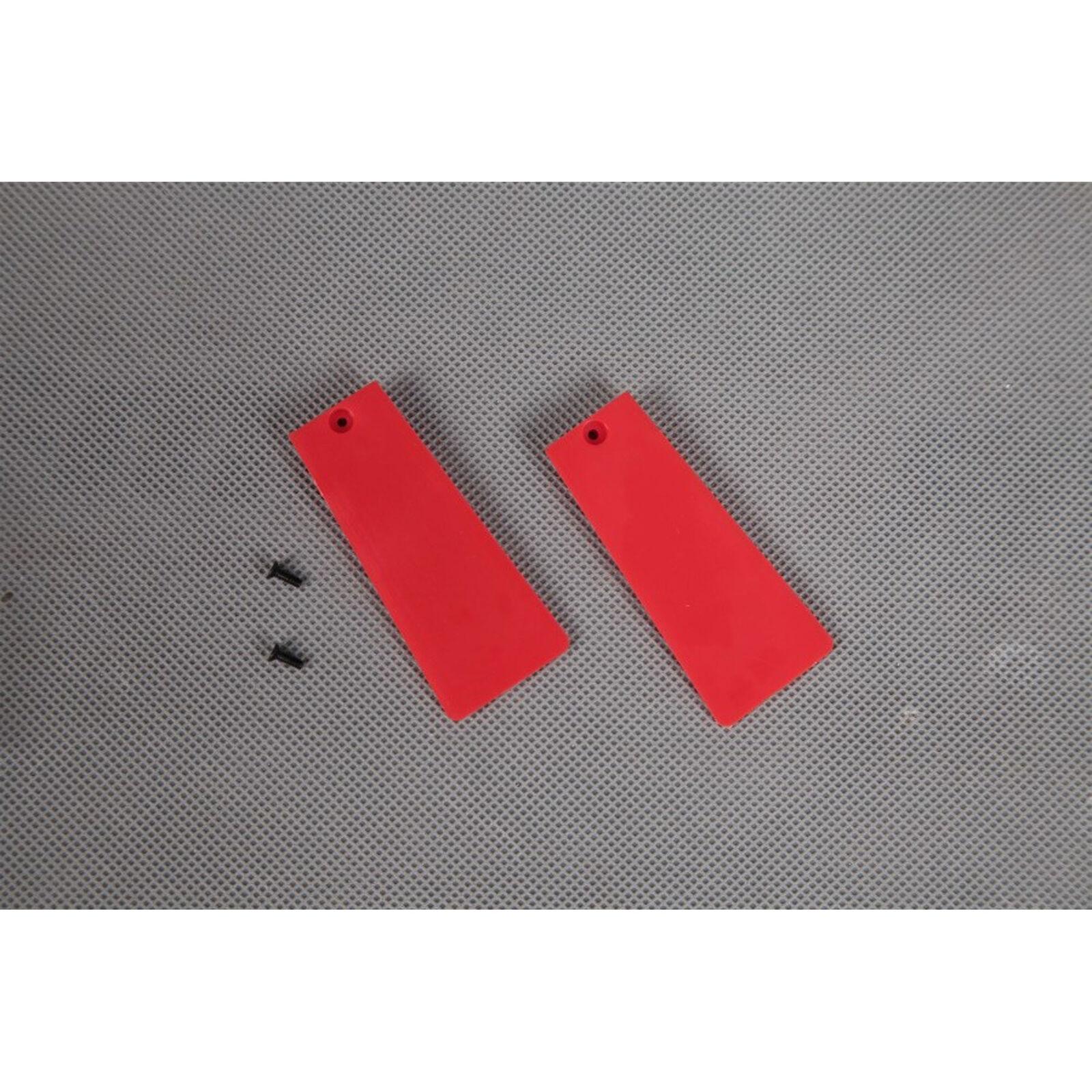 Main Landing Gear Door: Red Avanti