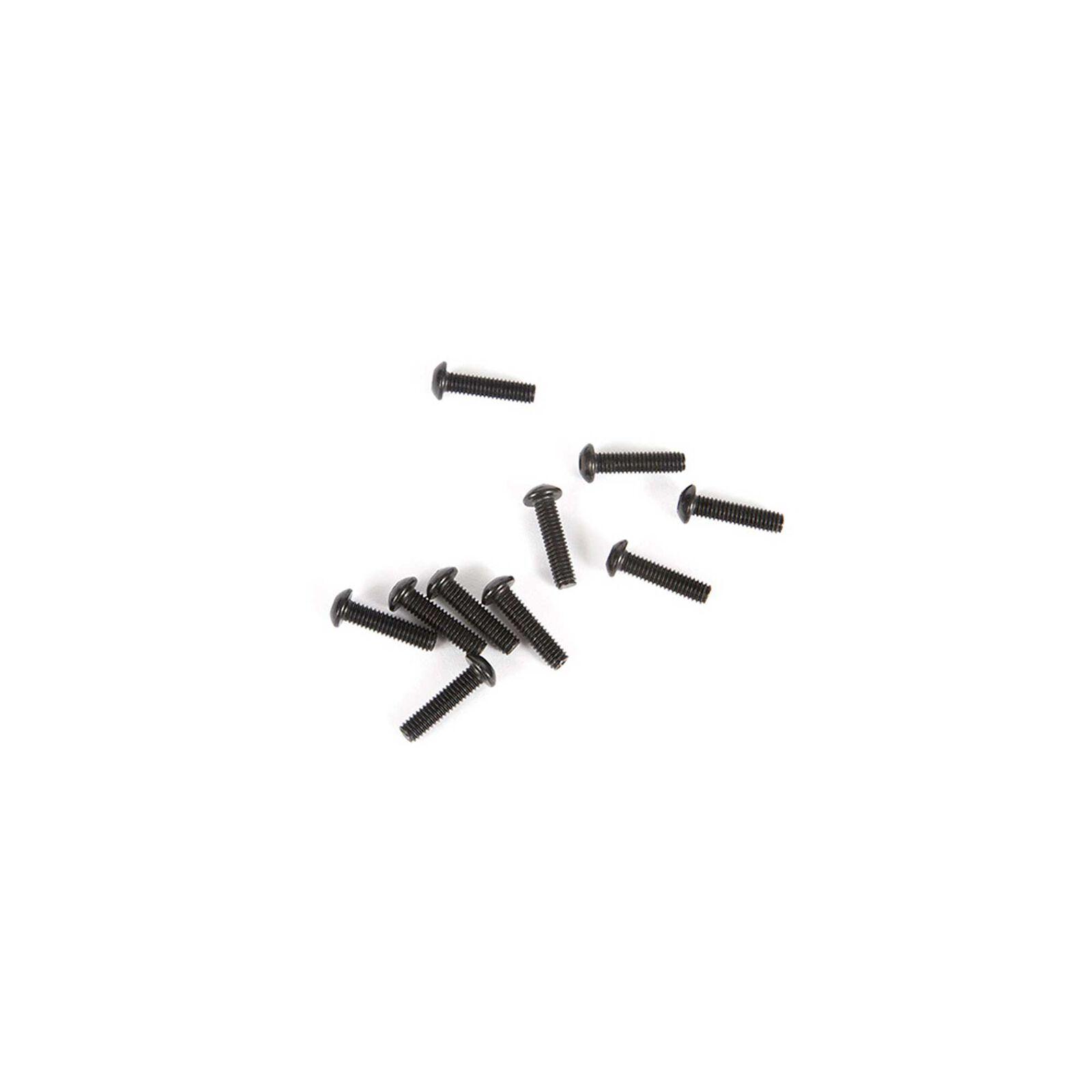 M2.5 x 10mm Button Head Screw (10)