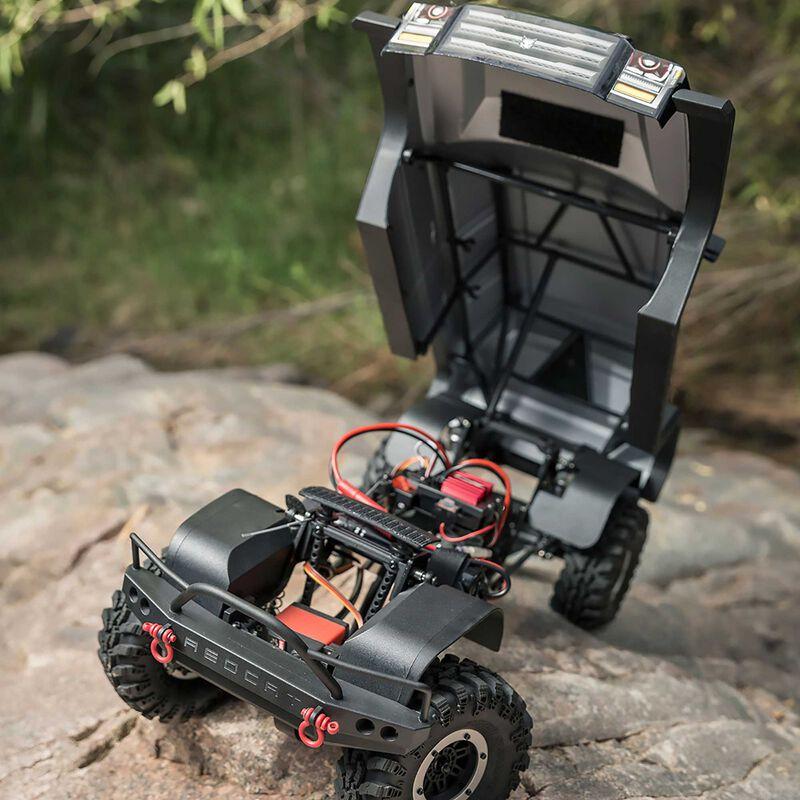 1/10 Everest Gen7 Pro 4WD Crawler Brushed RTR, Black