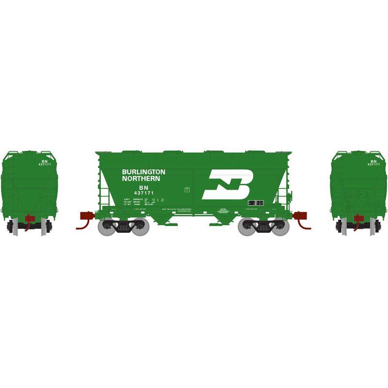 N ACF 2970 Covered Hopper, BN Green #437171