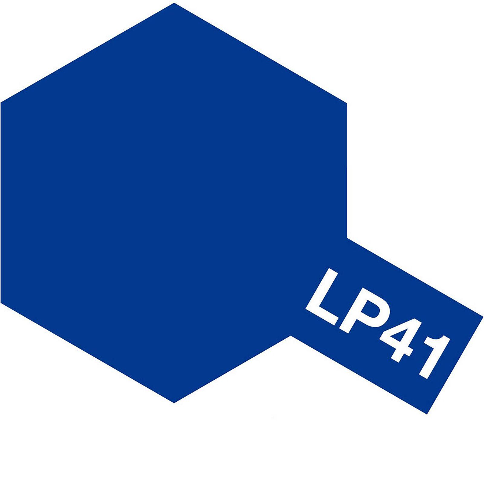 Lacquer Paint, LP-41 Mica Blue, 10 mL