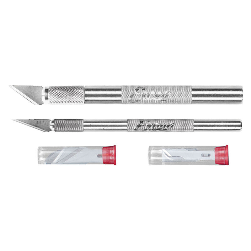 Hobby Knife Set:K1 & K2 with 10 Blades
