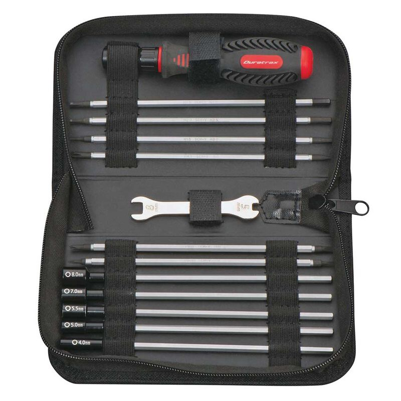 19-in-1 Tool Set with Pouch Universal
