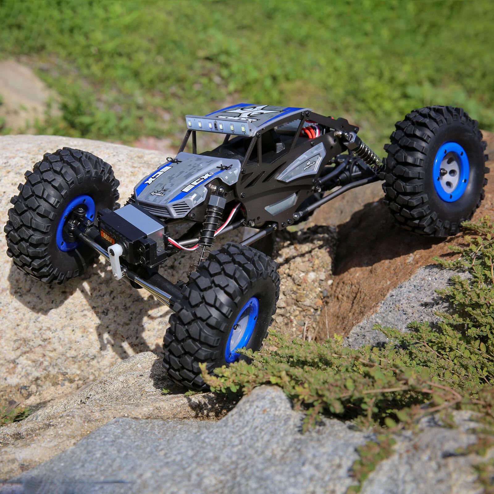 1/18 Temper 4WD Gen 2 Brushed RTR, Blue