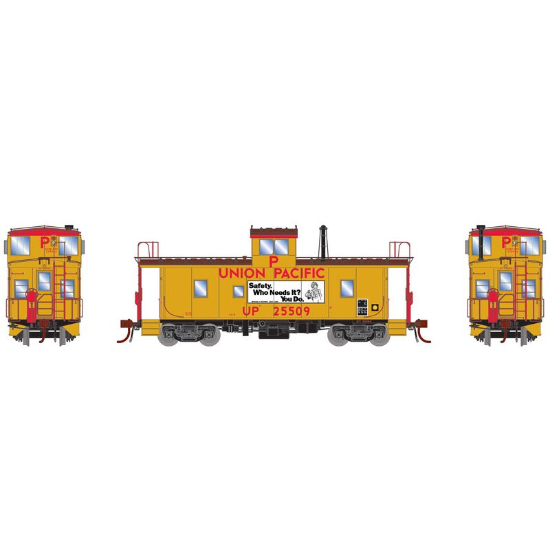 HO CA-8 Late Caboose with Lights UP #25509
