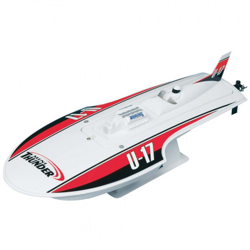 Mini Thunder Hydroplane RTR Red