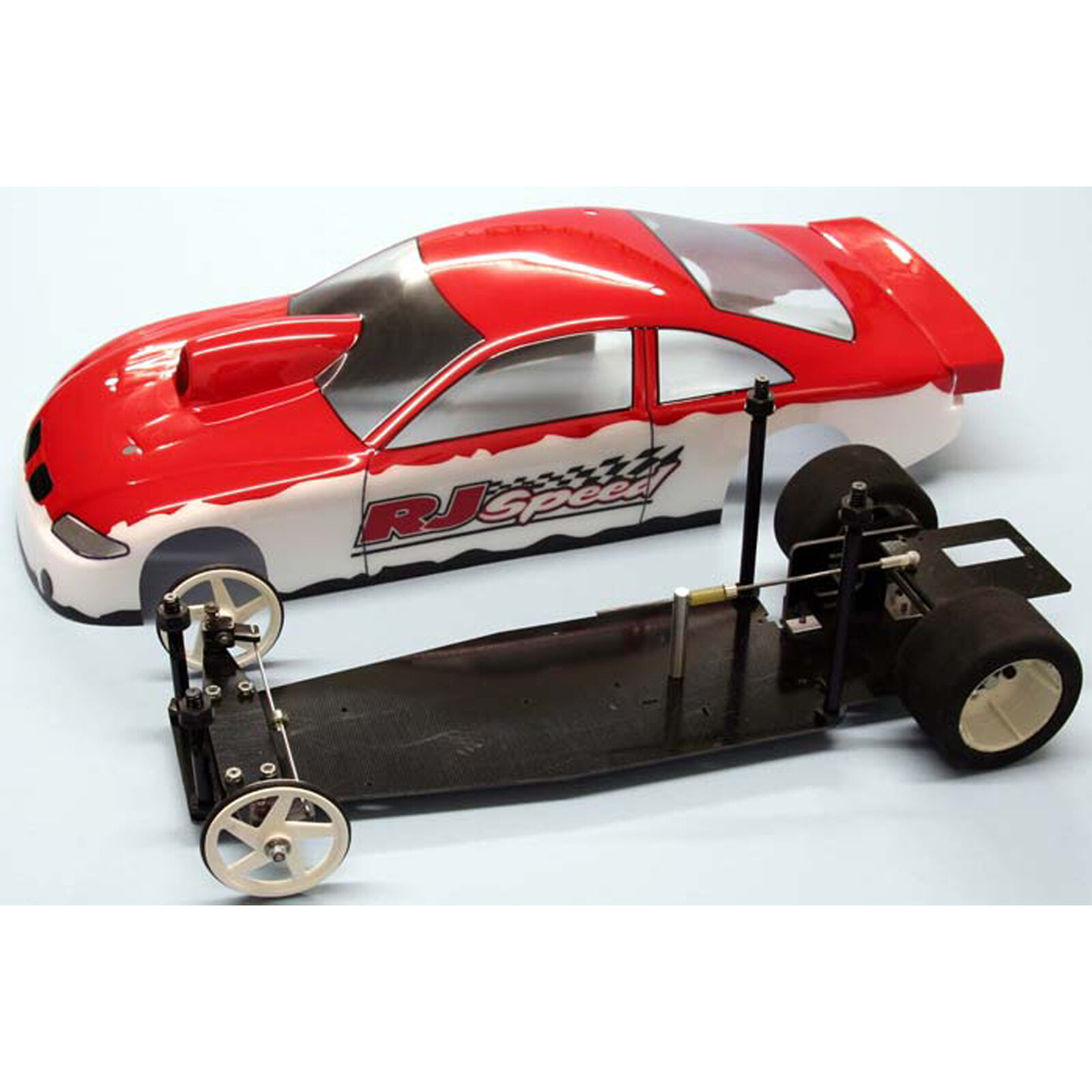 """1/10 Electric Pro Stock 2WD Dragster Kit, 11"""""""