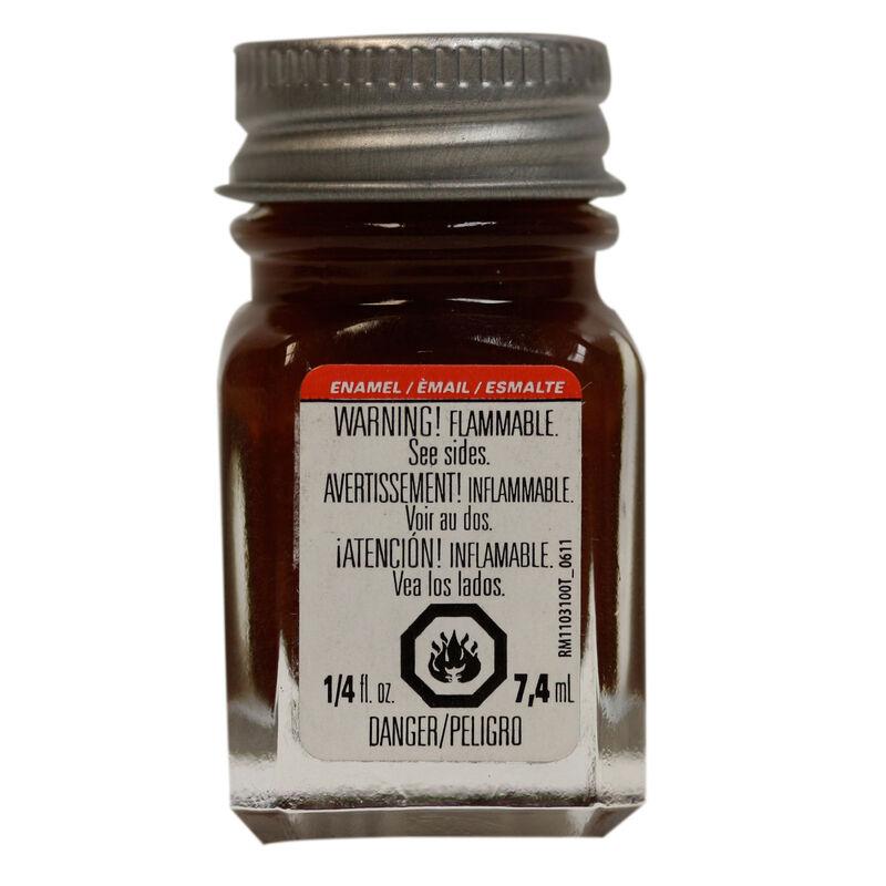 Enamel 1/4 oz Brown