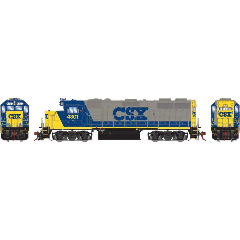 HO GP39-2 CSX #4301