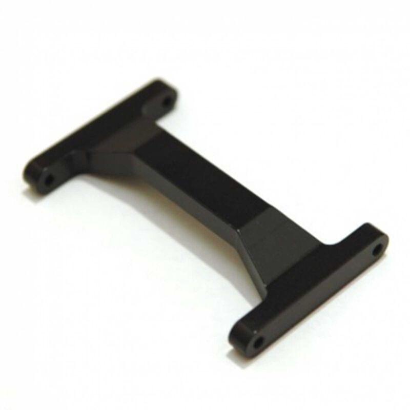 CNC Machined Rear Chassis Brace, Black: Enduro