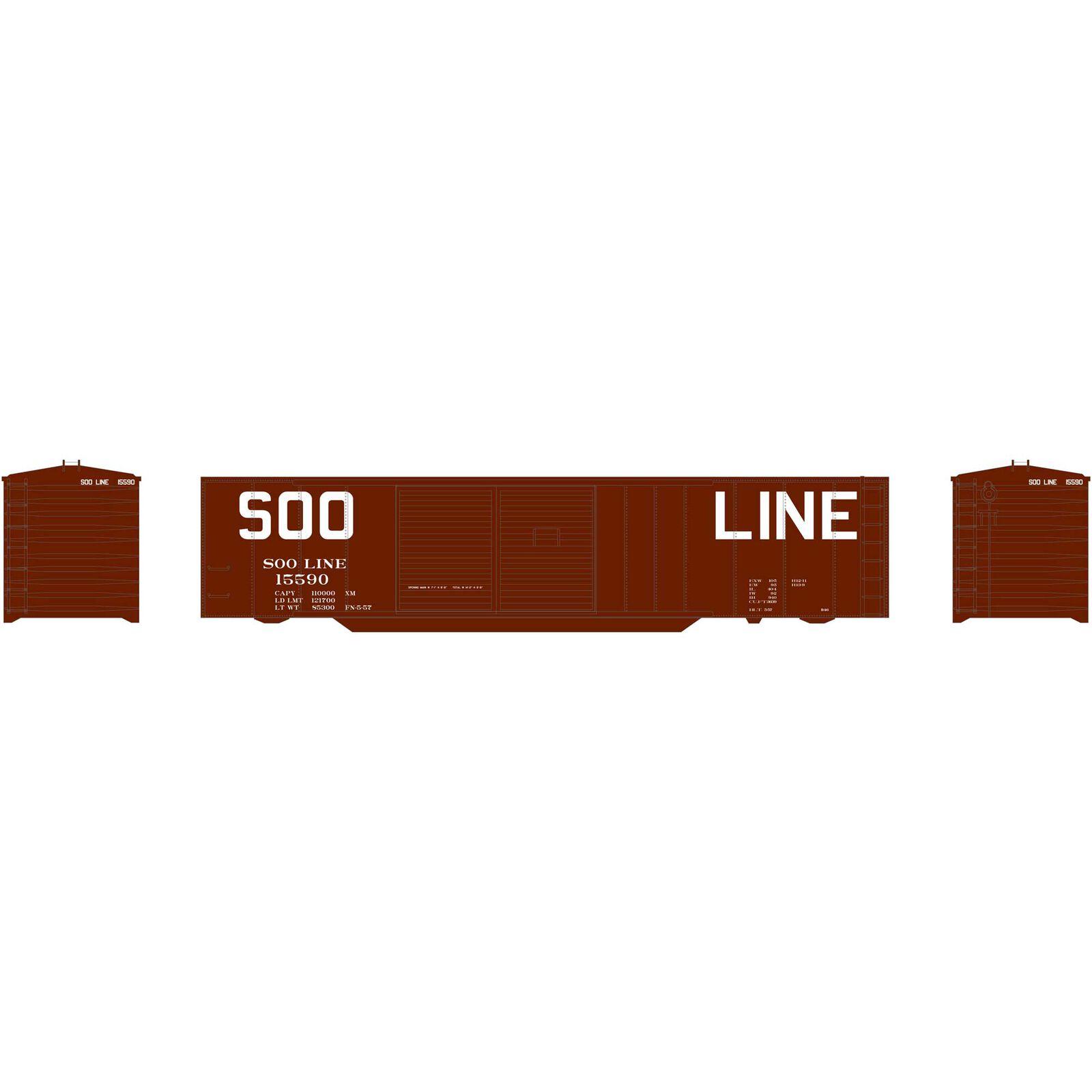 N 50' Double Sliding Door Box SOO #15590