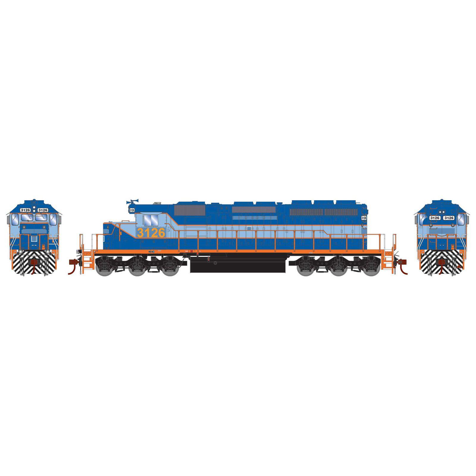 HO RTR SD40-2 Ferromex Ex-NDM #3126