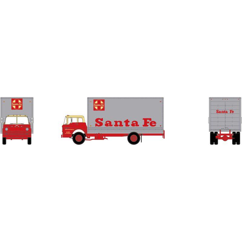 N Ford C Box Van, Santa Fe