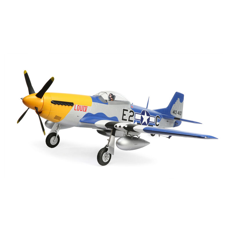 P-51D Mustang 1.5m BNF Basic Combo