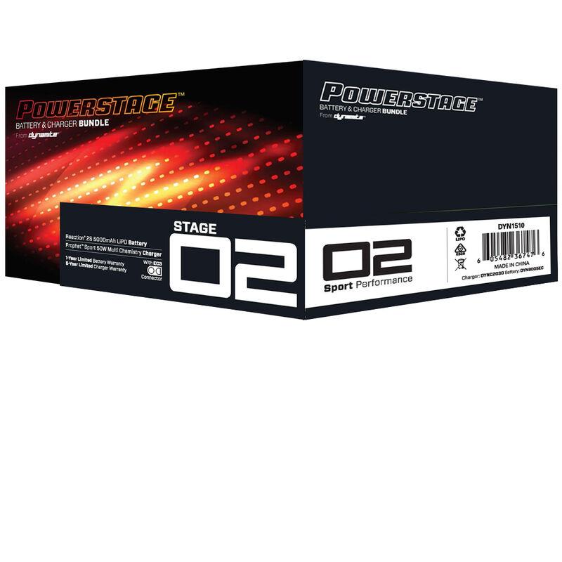 Powerstage Bundle - Stage 2: 2S LiPo, EC3