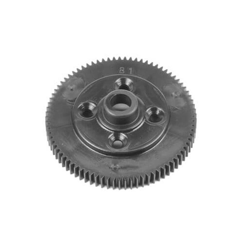 Spur Gear 81t 48pitch black: EB410.2