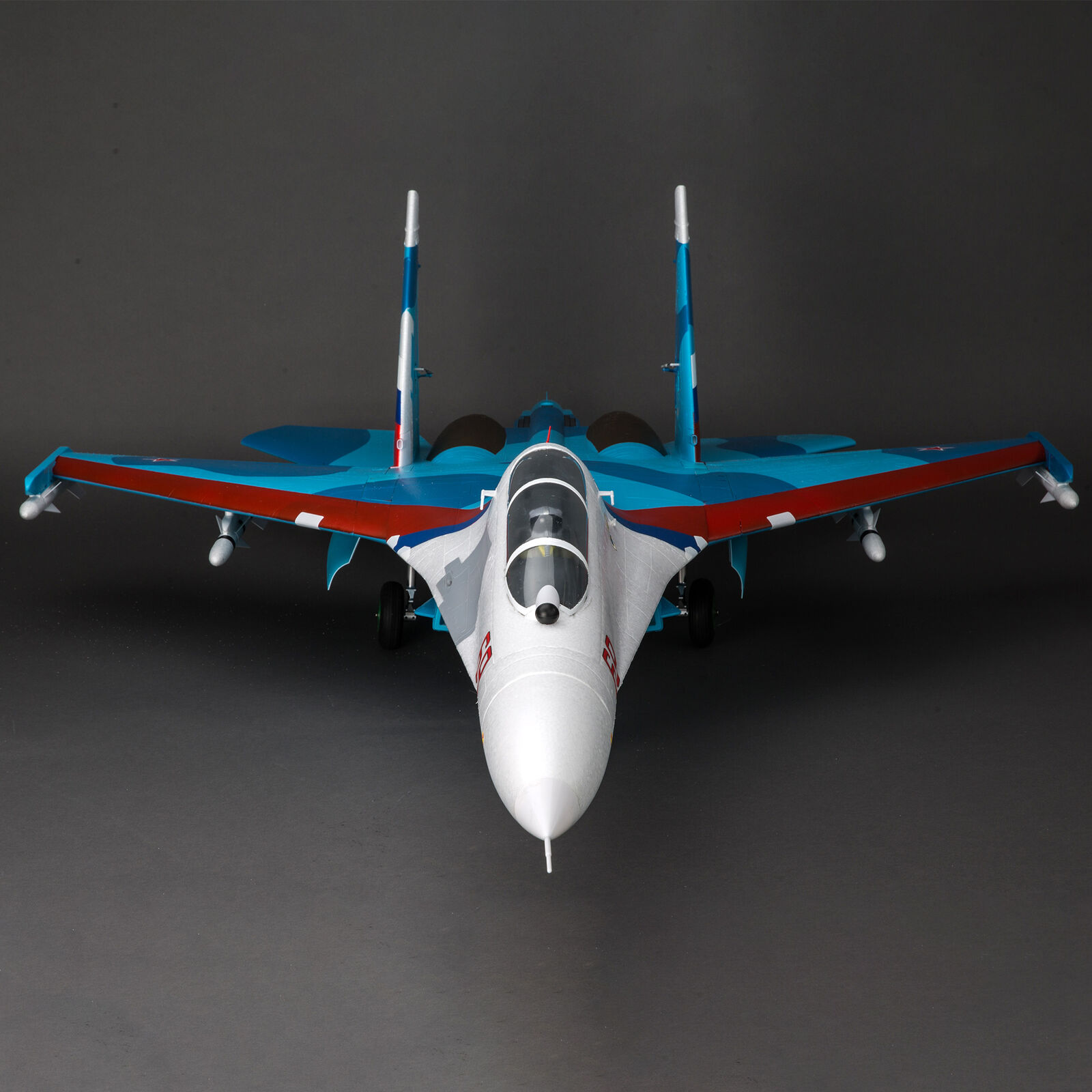 SU-30 Twin 70mm EDF BNF Basic with AS3X and SAFE Select, 1100mm