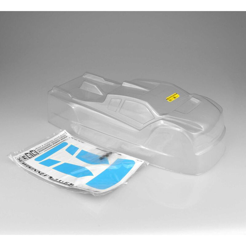 1/8 Finnisher Clear Body: HB Racing D817T