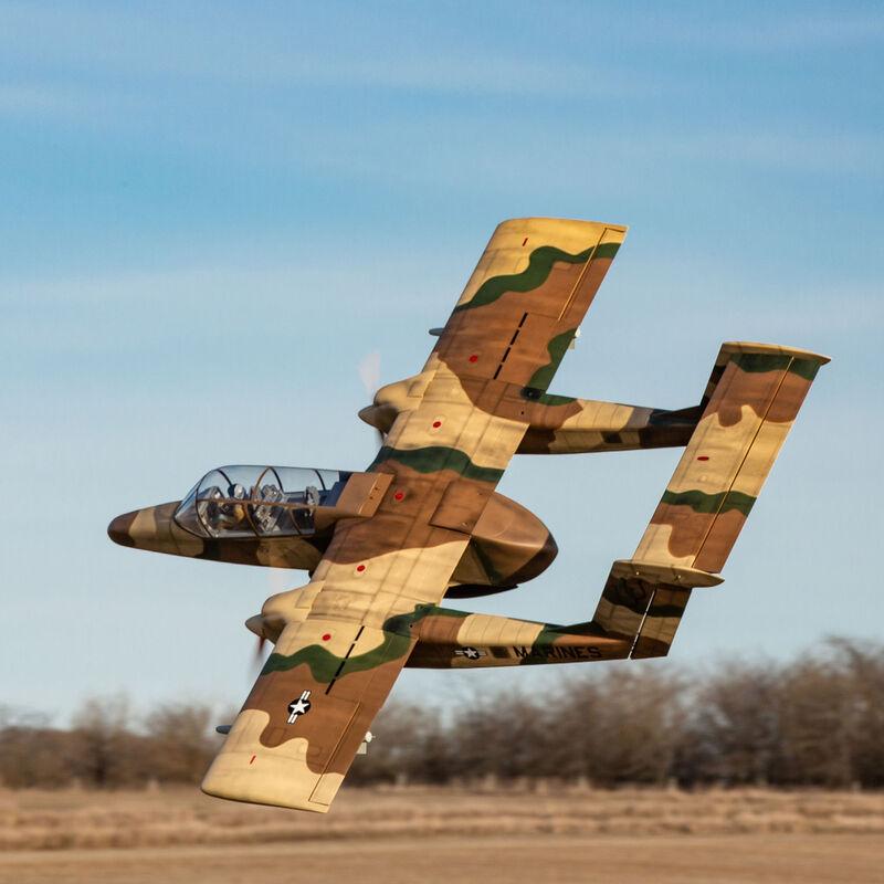 OV-10 Bronco 30cc ARF with Landing Gear Set