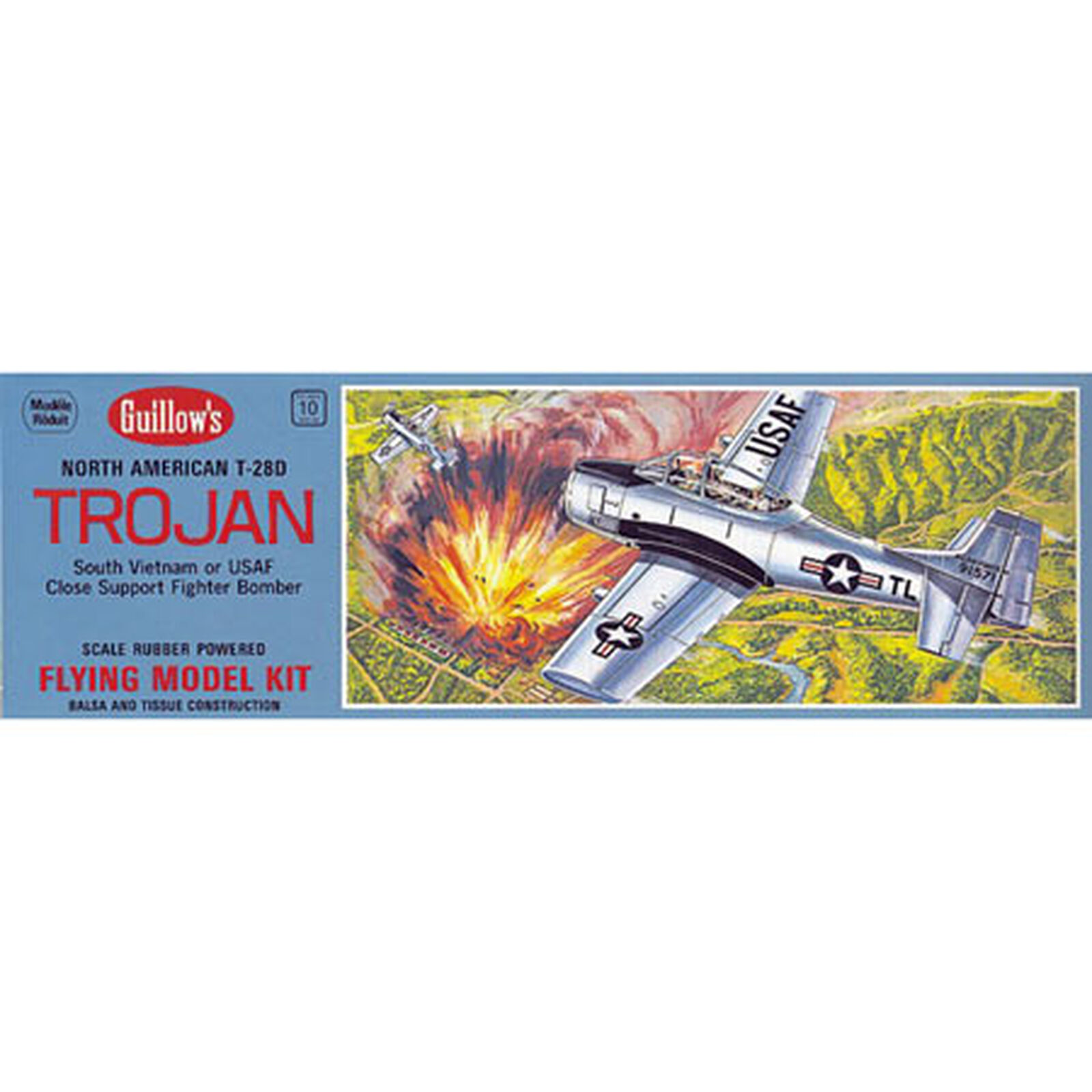 """North American T28 Trojan Kit, 16"""""""