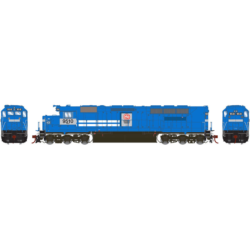 HO SDP45 with DCC & Sound MKCX #9510
