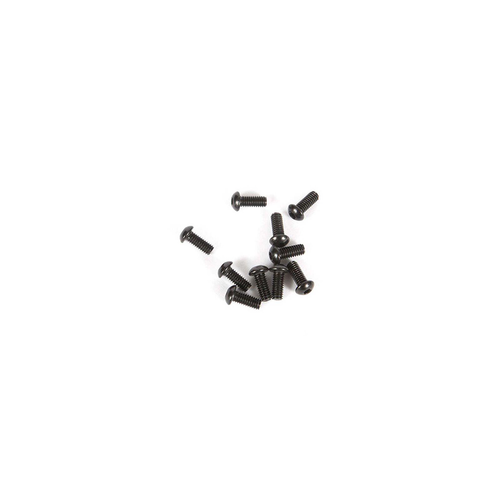 M2.5 x 6mm Button Head Screw (10)