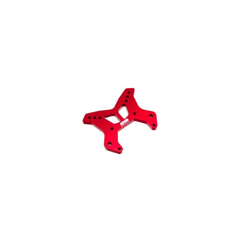 Front Aluminum Shock Tower CNC 7075 T6 M, Red: EXB