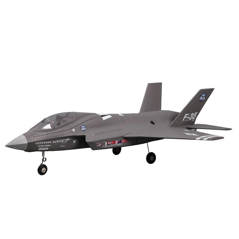 F-35 V2 Gray 64mm EDF Jet PNP, 698mm
