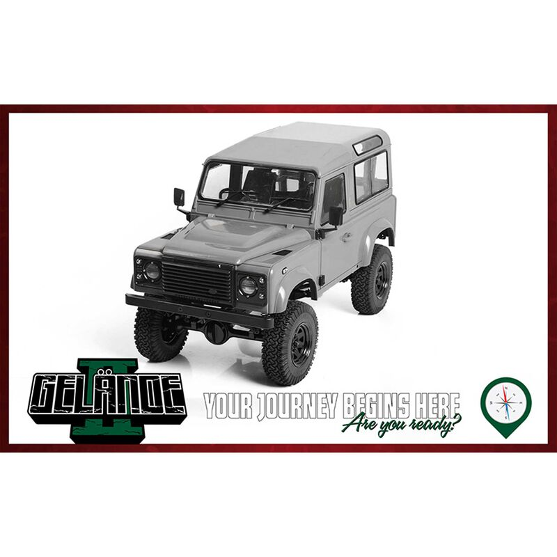 Gelande II Truck Kit with 2015 Land Rover D90 Body