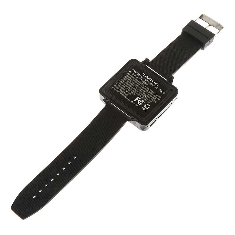 "FPV Wrist Watch, 2"" Monitor, 32 5.8GHz Channels"