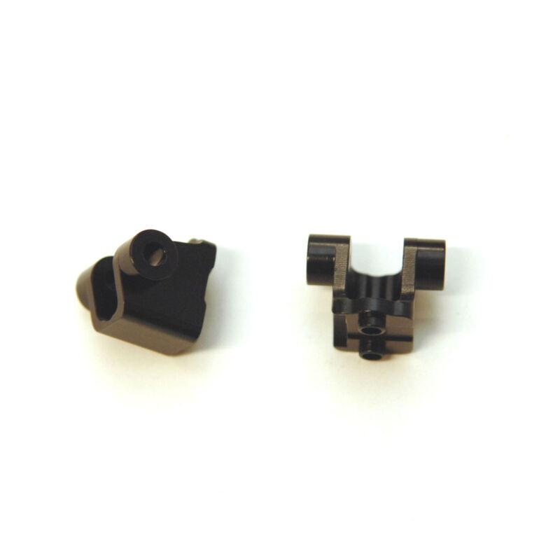 Aluminum Rear Lower Shock Mount (1pr), Black: TRX-4