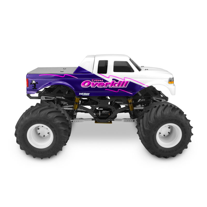 1/10 1993 Ford F-250 SuperCab Monster Truck Clear Body with Racerback