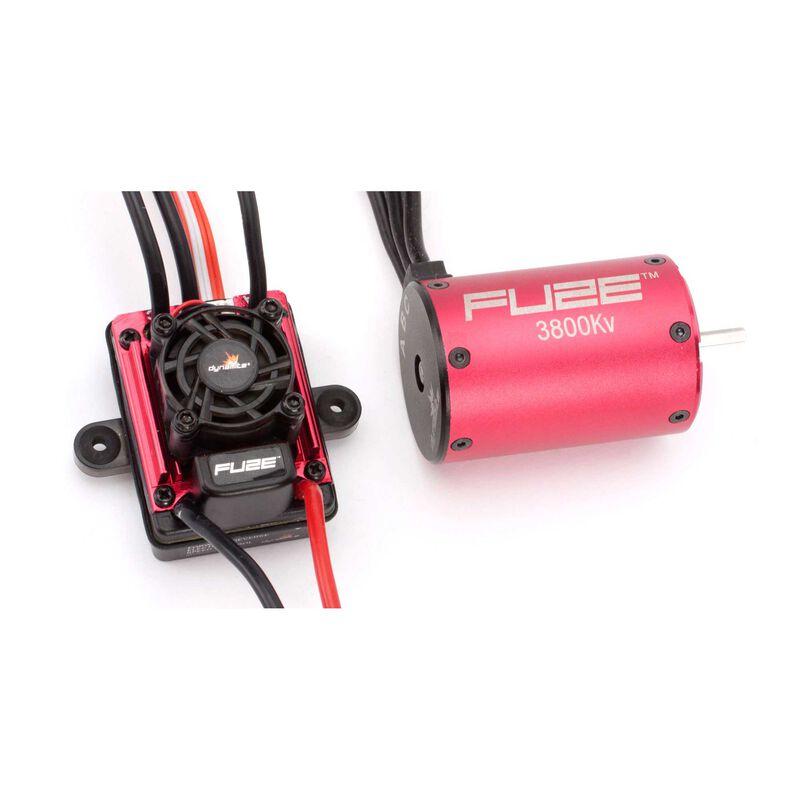 FUZE 1/10 4-POLE, 3800Kv ESC/Motor Combo: SCT
