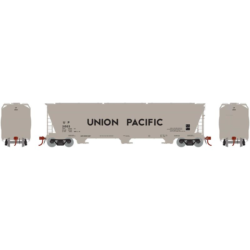 N ACF 4600 3-Bay Centerflow Hopper UP #21503