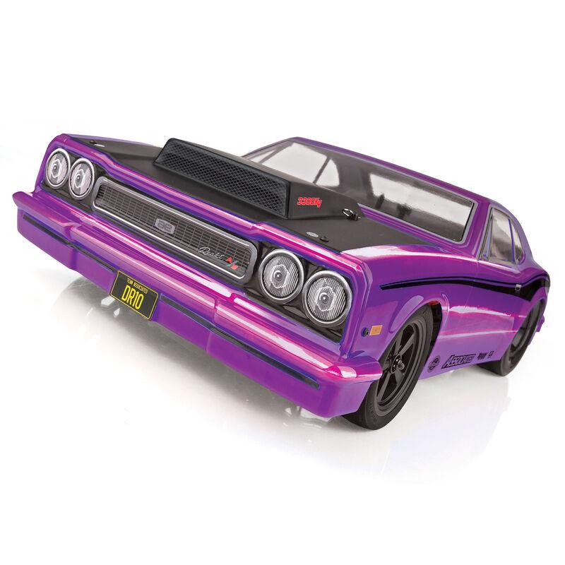DR10 Drag Race Car RTR: Purple
