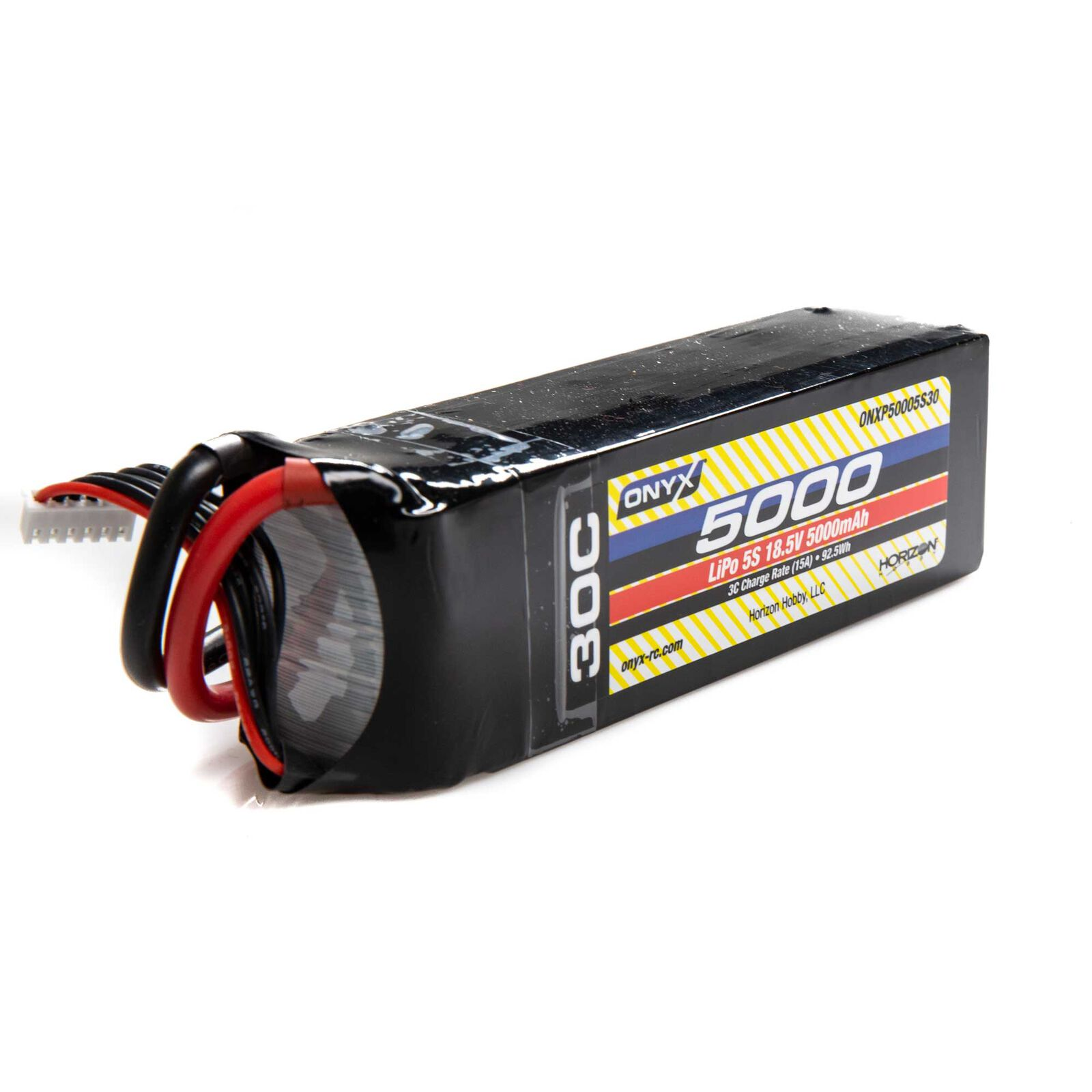 18.5V 5000mAh 5S 30C LiPo Battery: EC5