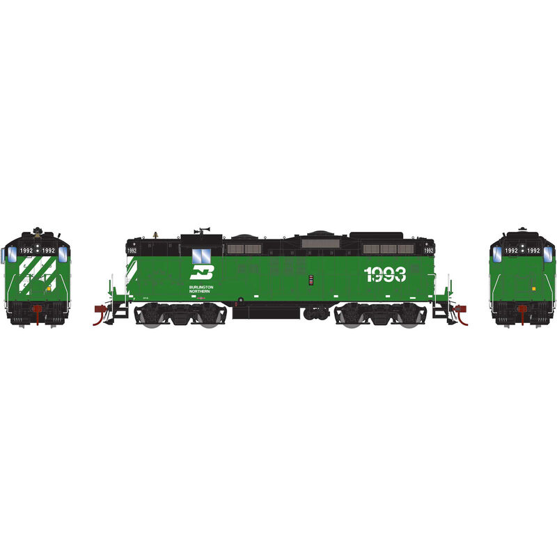 HO GP18 with DCC & Sound BN #1993