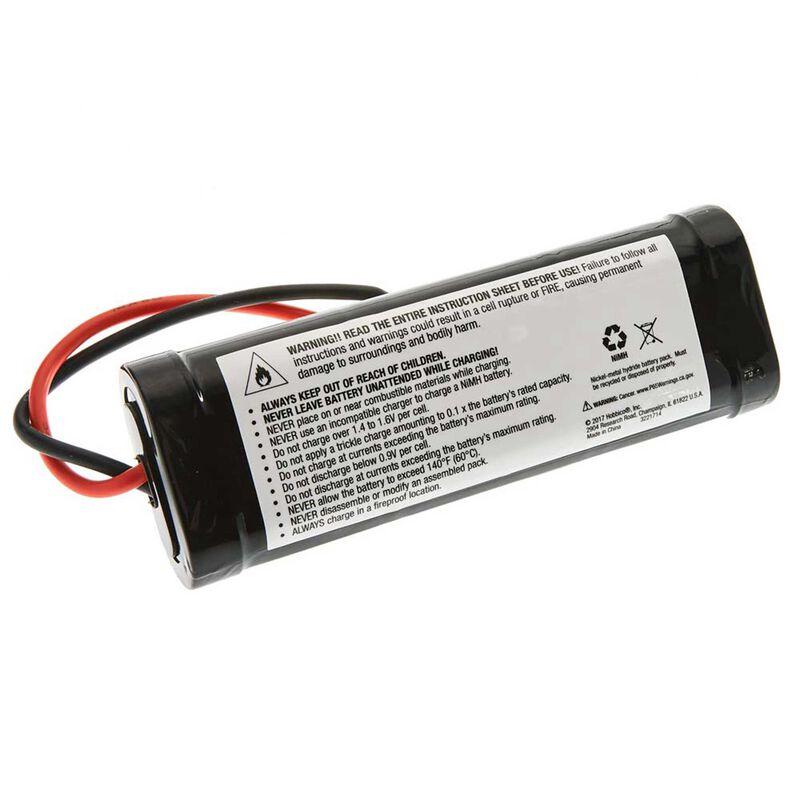 7.2V 3000mAh 6-Cell Sub-C Stick NiMH Battery: Tamiya Connector