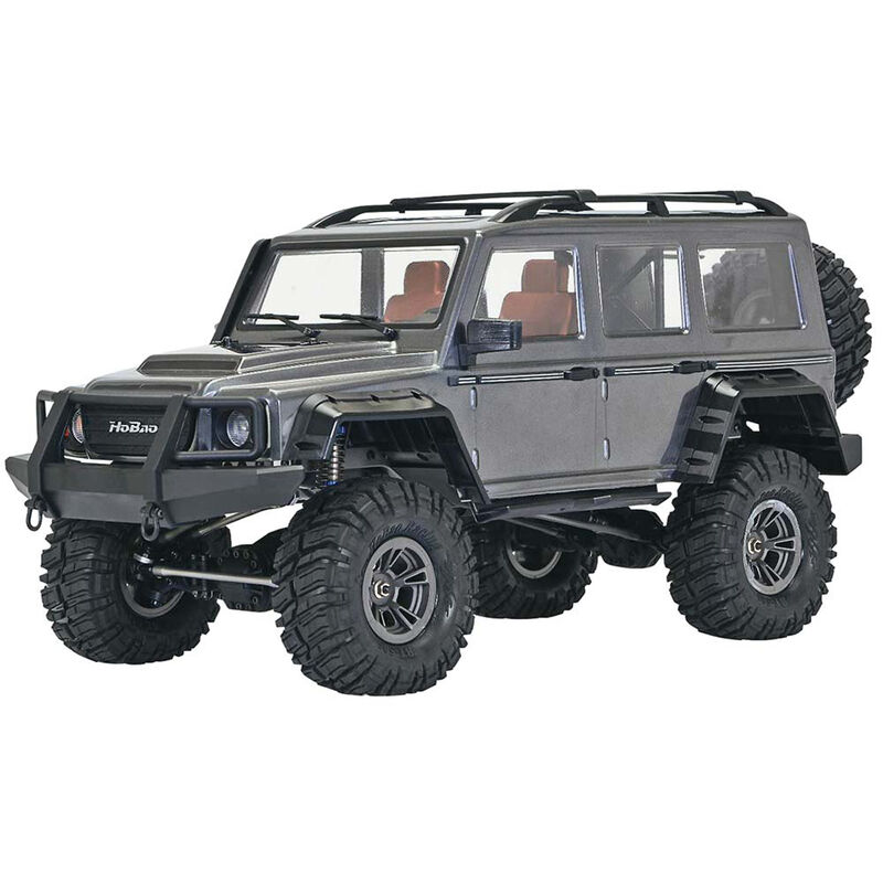 1/10 DC-1 4WD Trail Crawler Brushed RTR, Gray