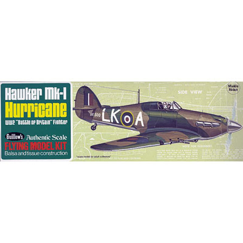 Hawker MK-1 Hurricane Kit, 16.5""