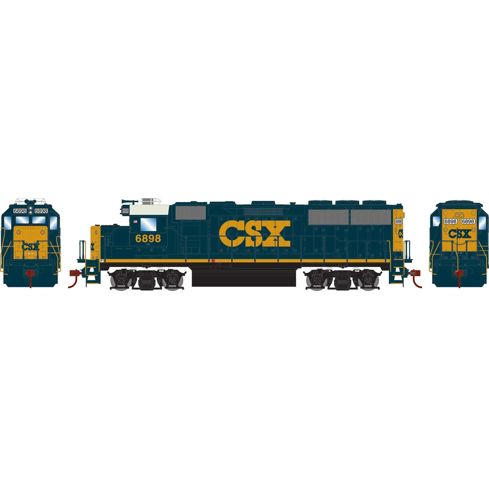 HO GP60 w DCC Decoder CSX #6898