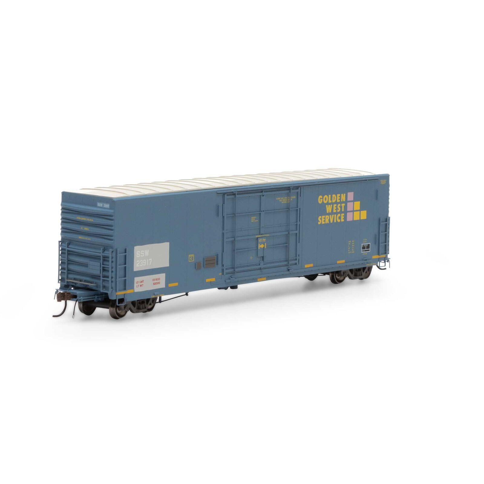 HO 50' PC&F SS Box with 14' Plug Door, GWS/SSW #23917