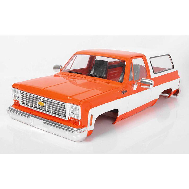 1/10 Chevrolet Blazer Hard Body Complete Set, Orange