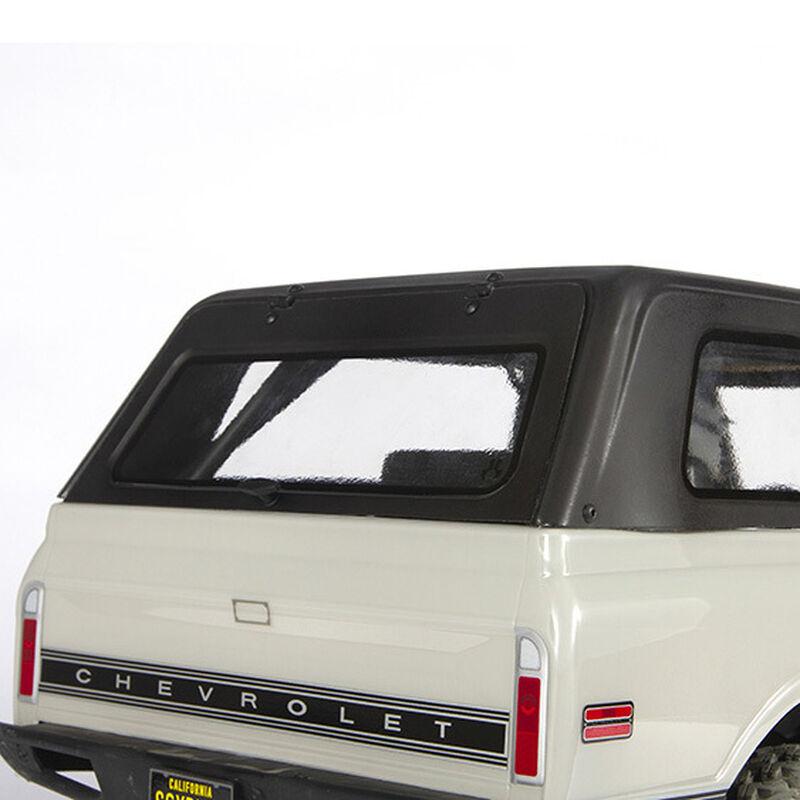 1/10 Hardtop Uncut Clear Body: 1969 Chevy K5 Blazer