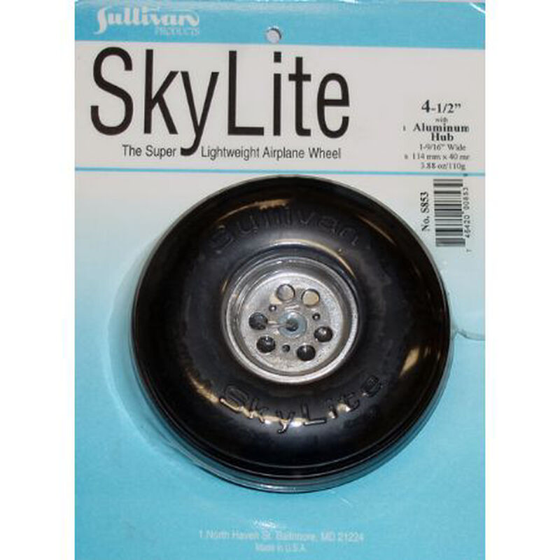 "Sky Wheel w/Alum Hub, 4-1/2"""