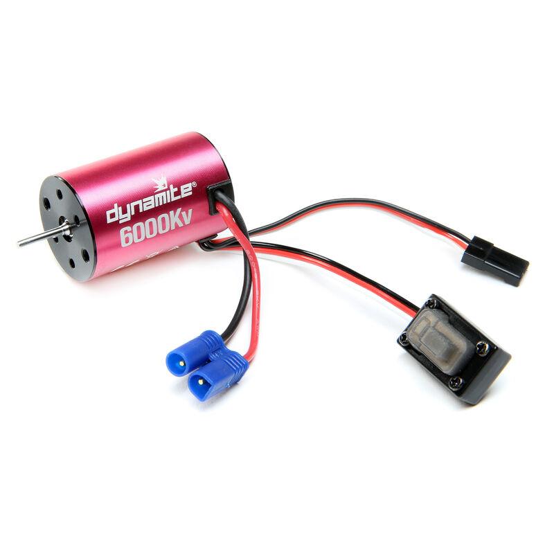 Brushless Motor/ESC 2-in-1 Combo, 6000Kv: Mini-T 2.0